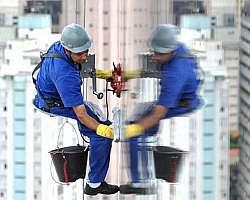 Higienização de cinto de segurança para trabalho em altura