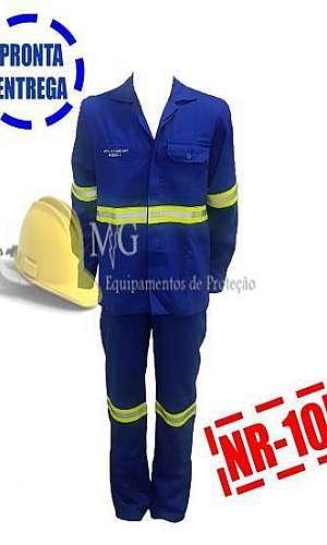 Uniforme eletricista nr10 risco 1 e 2